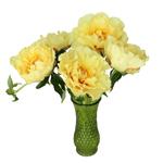Garden Treasure Yellow Peony in a vase