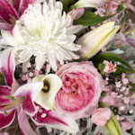 Graceful Pink DIY Flower Centerpieces in a vase