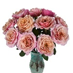 Heart's Desire Garden Wholesale Roses In a vase