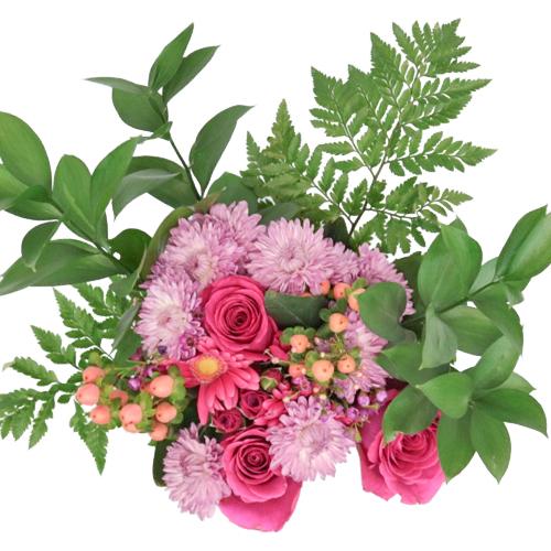 Pink Medley Classic Flower Centerpieces