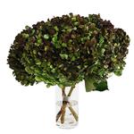 Antique Hydrangea Charcoal Wholesale Flower in a Vase