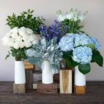 Coastal Vibes Hydrangea Wholesale Flower in a Vase