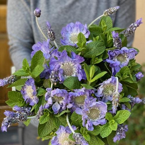 Lavender Mother's Day Flower Bouquet Online