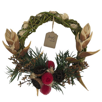 Enchanted Woods Dried Wreath