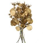 Metallic Gold Greenery DIY Flower Kit Bunch