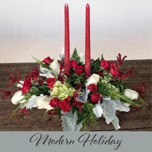 Holiday Flower Design Live Centerpieces December 22nd 7PM EST