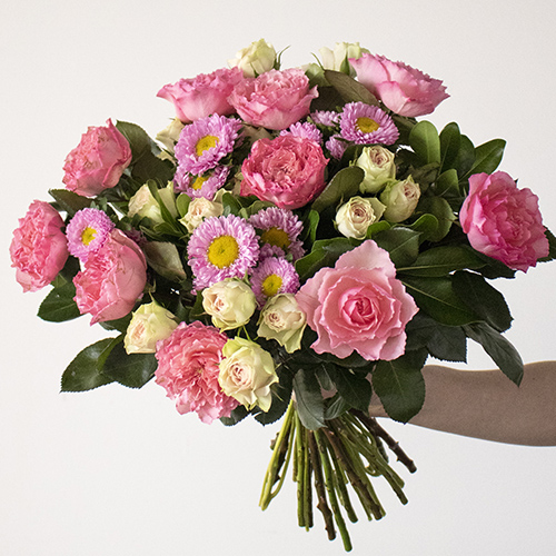 Adore You Fresh Pink Flower Arrangement