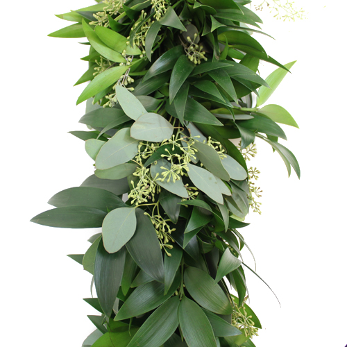 Nagi and Seeded Eucalyptus Garland