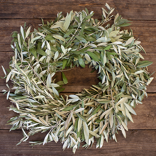 Prime Deal Olive Branch Wreath