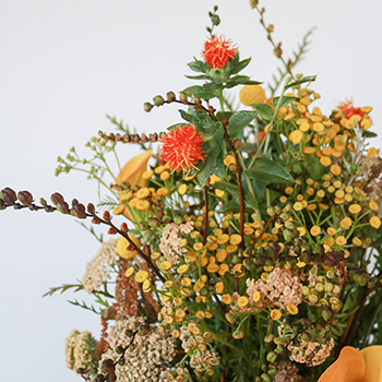 Funky Fall Flower Package for Weddings