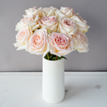 Pastel Perfection Garden Wholesale Roses In a vase