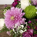 Pink and green DIY kit wholesale flowers