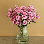 Pinky Lavender Spray Wholesale Roses In a vase