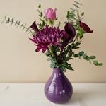 Plum Perfection DIY Flower Kit In a Vase