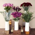 Plum Perfection DIY Flower Kit Bunch