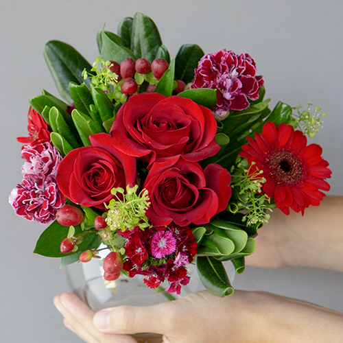 Valentines Day Red Event Flower Arrangement