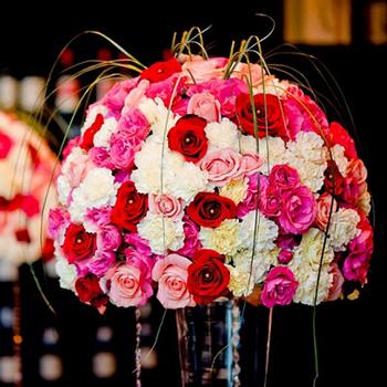 Choose Your Color Rose and Carnation DIY Flower Kit In a Vase