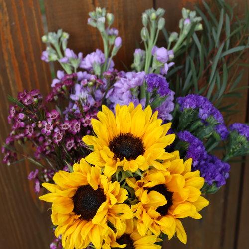 Save the San Diego Flowers Combo Box