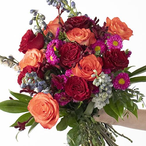 Vivid Colors Fresh Flower Bouquet