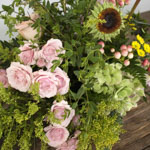 Spring Morning DIY Flower Centerpiece in a vase