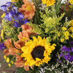 Sun Rays Yellow DIY Flower Centerpieces in a vase