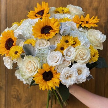 Sunflowers at Sunset Online Centerpieces for Mom
