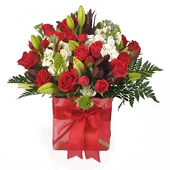 Valentine's Flowers Mixed Bouquet