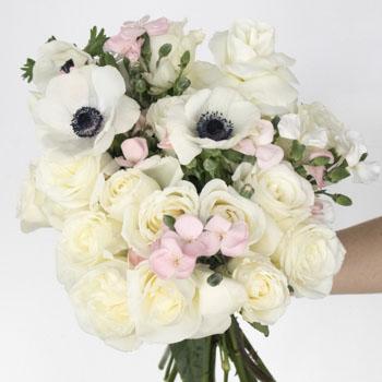 Guardian Angel White Rose Bouquet | FlowerFix