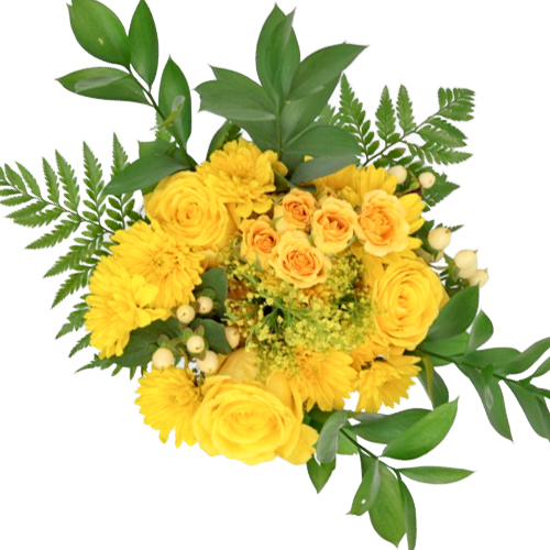 Yellow Classic Table Centerpieces