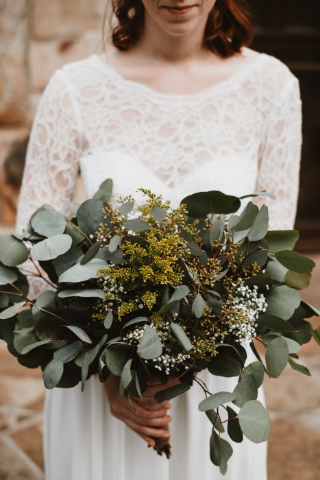 Fiftyflowers Review Rustic Eucalyptus Wedding
